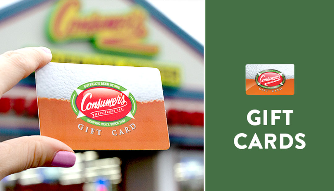 Gift Cards Make the Perfect Gift!